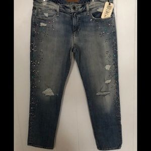 Joes jeans embellished kerille easy jeans NWT